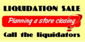 liquidation sale banner template