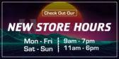 New Hours Check it Out