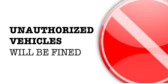 Parking Unauthorized Fined B