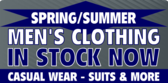Spring/Summer men's clothing