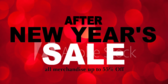 Store New Years Sale