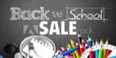 Store Back to School Sale