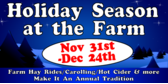 farm holiday signs