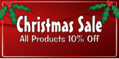 Store Christmas Sale Percent Off