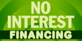 Financing No Interest Circle