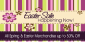 Store Easter Sale