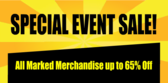 Store Special Event Sale
