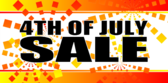 Store 4th of July Sale