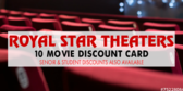 Movie Theater Discount