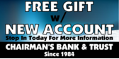 Free Gift with New Account