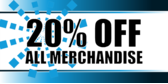 Store Percent Off Merchandise