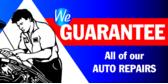 Auto Repairs Guarantee