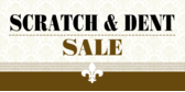 Store Scratch Dent Sale