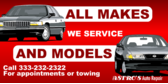 Auto Service All Makes All Models