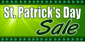 Store St Patricks Day Sale