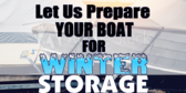 Boat Winter Storage