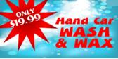Hand Car Wash with Wax