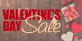 Store Valentines Day Sale
