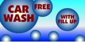 Gas Station Promo Car Wash