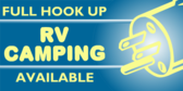 RV Camp Spots Full Hookup