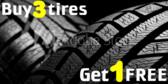 Tire Sale Buy Three 1 Free