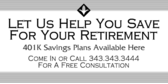 Retirement Help You Save