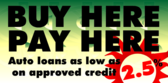 Used Cars Low Auto Loans