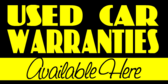 Used Cars Warranties