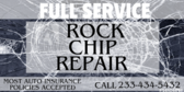 Auto Glass Rock Chip Repair Giant Crack