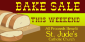 Church Bake Sale Baked Bread