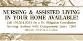 Nursing Assisted Living Avail