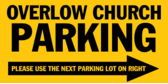 Church Overflow Parking
