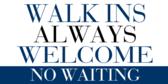 Walk In Always Welcome