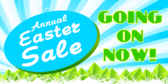 Easter Sale Now