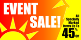 Event Sale Sunshine Outline