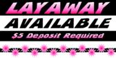 Layaway With Deposit