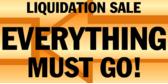 Liquidation Sale Arrows