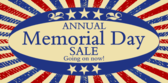 Memorial Day Sale Old Time Patriotic
