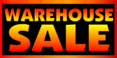 Warehouse Sale Blue