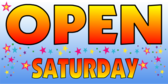 Open Saturday Blue