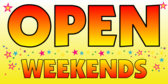 Open Weekends Yellow
