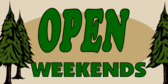 Open Weekends Trees