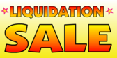Liquidation Sale Yellow