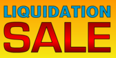 Liquidation Sale Yellow 2 Lines