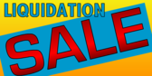 Liquidation Sale Blue 2 Lines