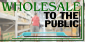 Wholesale To The Public Green Lines