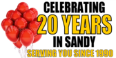 Celebrating 20 years in Sandy