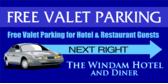 Free Valet Parking