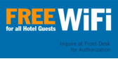 Free WiFi for Guests