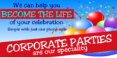 Corporate Party Booking